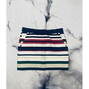 J Crew Multi Colored Skirt
